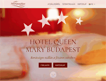 Tablet Preview of hotelqueenmary.hu
